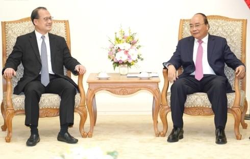 Nguyên Xuân Phuc: le Vietnam favorise l'implantation des entreprises hongkongaises