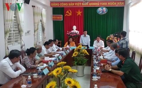 Vo Van Thuong à Vinh Long