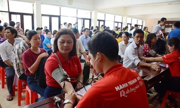 Da Nang : 1500 personnes donnent de leur sang