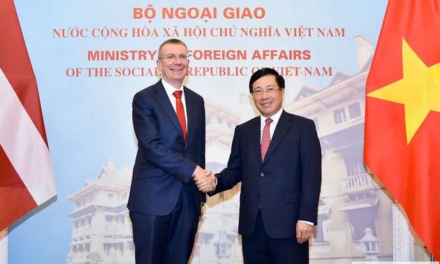 Renforcement des coopérations Vietnam-Lettonie