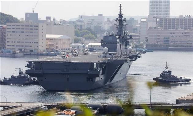 Début des exercices navals entre les USA, l'Inde et le Japon