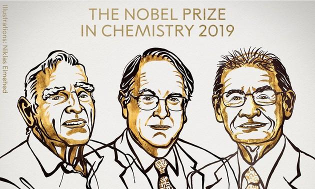 Le Nobel de chimie attribué à trois chercheurs pour leurs travaux sur les batteries au lithium