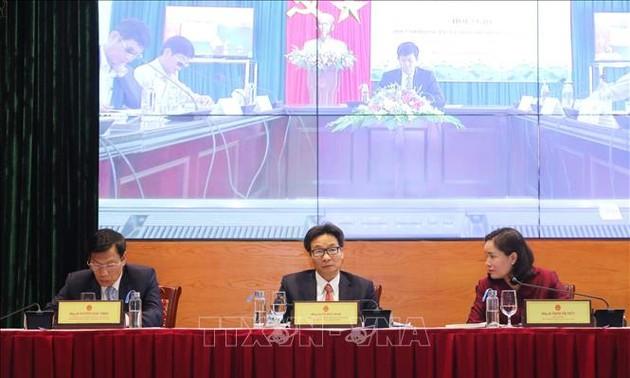 Culture-Sports-Tourisme: visioconférence sur la mise en œuvre des missions pour 2020