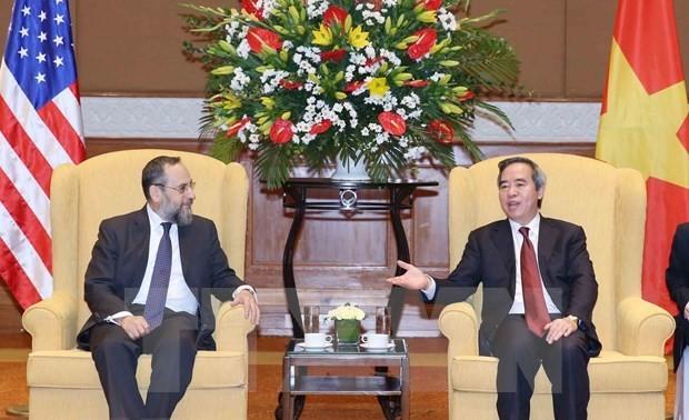 Le Vietnam souhaite promouvoir un partenariat substantiel avec les Etats-Unis