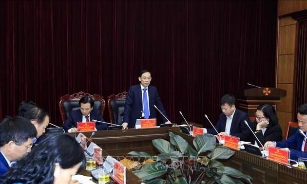 Inspecter la gestion frontalière dans la province de Diên Biên