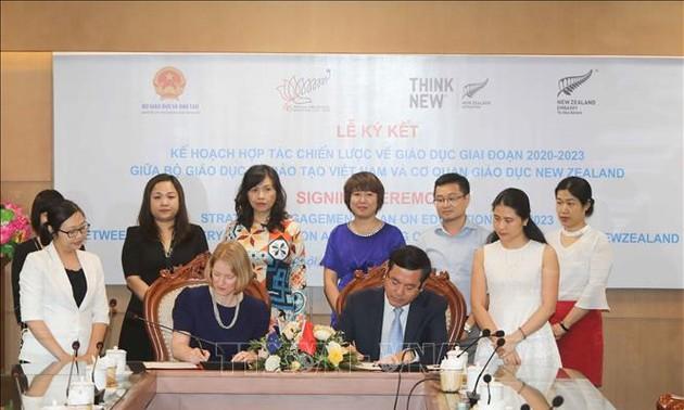 Vietnam-Nouvelle-Zélande: relancer la coopération dans l'éducation et l'agriculture