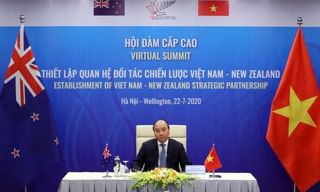 Le Vietnam et la Nouvelle-Zélande deviennent partenaires stratégiques