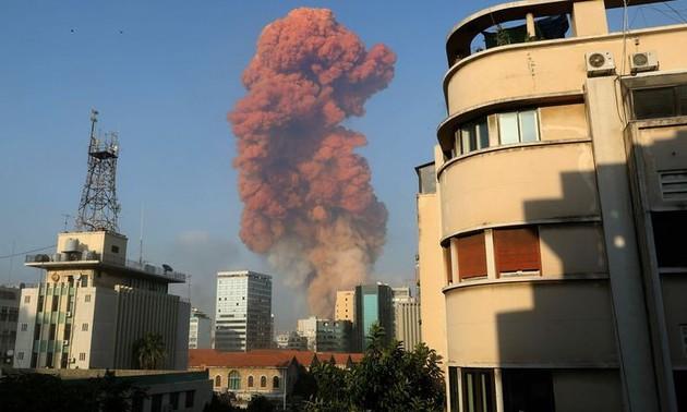 Double explosion à Beyrouth: une Vietnamienne parmi les blessés