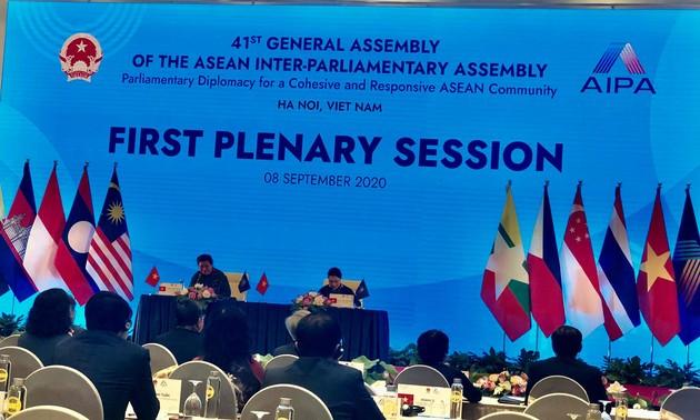 Première session plénière de l'AIPA-41 : Pour une ASEAN puissante, pacifique et stable