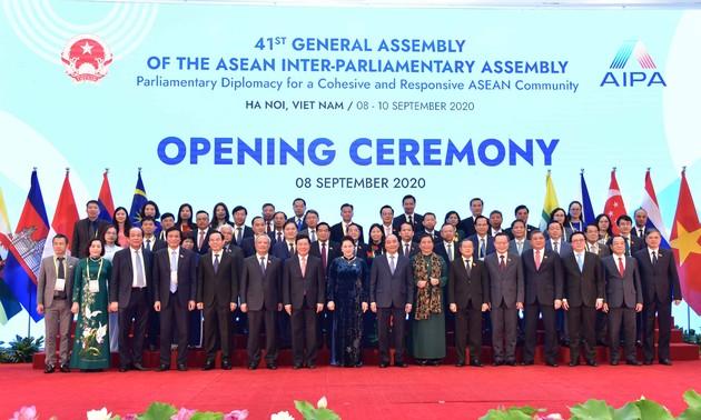 AIPA-41: l'organisation du Vietnam saluée par les parlementaires membres