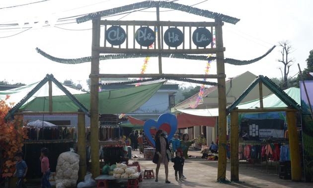 Le marché de Hà Lâu de Tiên Yên