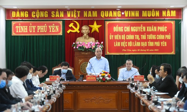 Nguyên Xuân Phuc : le tourisme de Phu Yên est un diamant brut à tailler