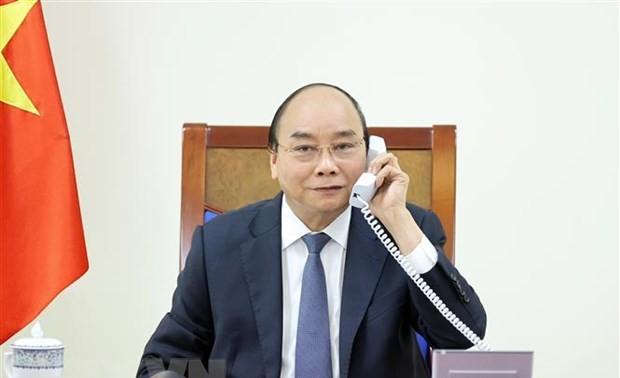Entretien Nguyên Xuân Phuc - Lee Hsien Loong