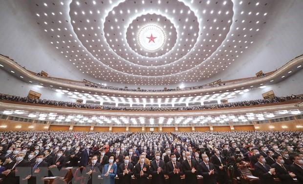 Clôture de la 4e session du 13e Comité national de la Conférence consultative politique du peuple chinois