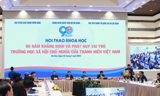 Colloque: «Les 90 ans de l'école socialiste de la jeunesse vietnamienne»