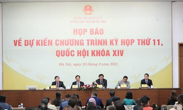 Ouverture de la 11e session de l'Assemblée nationale, 14e législature