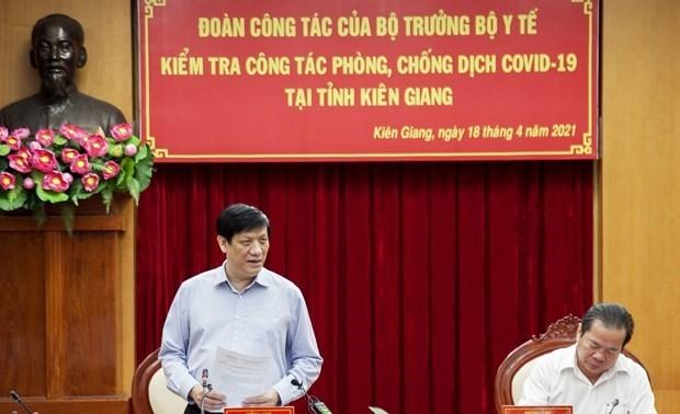 Covid-19: Kiên Giang applique des mesures de prévention à la frontière