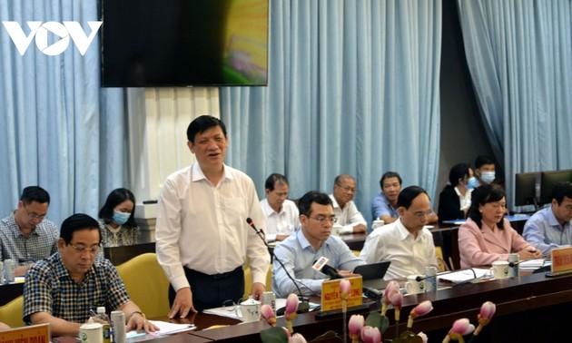 Covid-19: Nguyên Thanh Long inspecte le bouclier préventif dans la province de Vinh Long