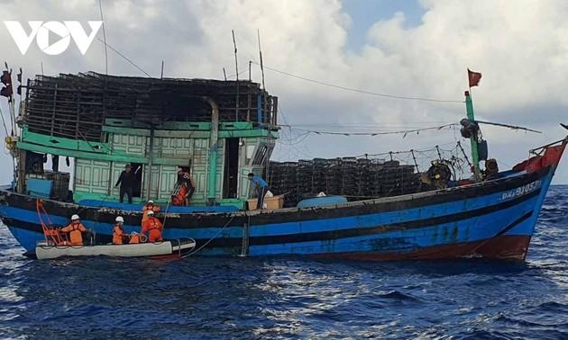 Opposition à l'interdiction faite par la Chine de pêcher en mer Orientale