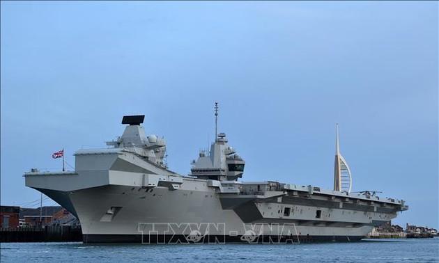 Indo-Pacifique: le Royaume-Uni et les États-Unis s'engagent à assurer la liberté de navigation