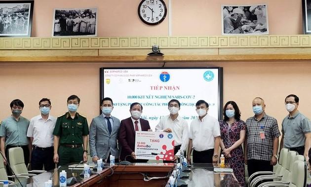10.000 tests de dépistage du coronavirus offerts au ministère de la Santé