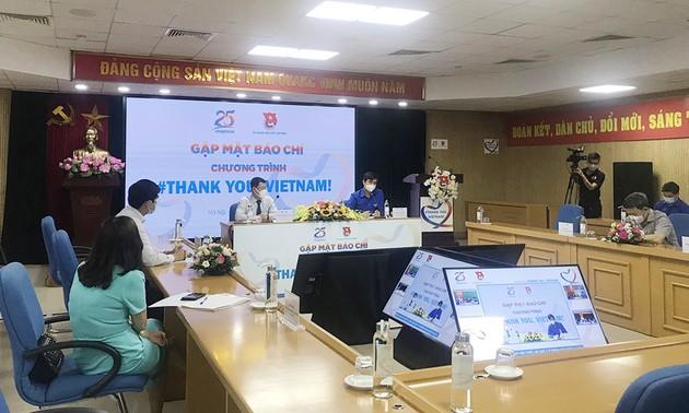 Lancement du programme «Thank you, Vietnam!» 2021