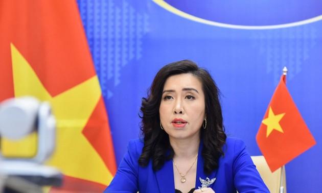 Conférence de presse du ministère des Affaires étrangères: mer Orientale, fonds de vaccination anti-Covid-19
