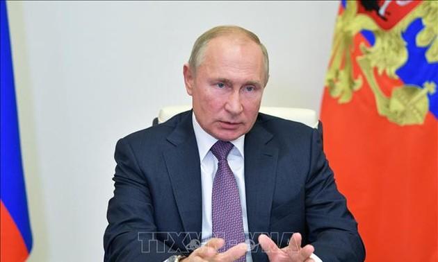 Des attaques informatiques russes contre les Etats-Unis ? Vladimir Poutine juge ces accusations «grotesques»