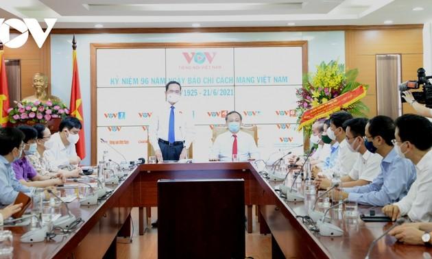 Journée de la presse révolutionnaire vietnamienne: Trân Thanh Mân formule ses voeux à la Voix du Vietnam