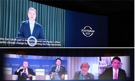 Changement climatique, Covid-19: lancement du Forum de Jeju