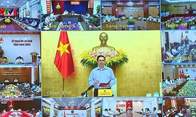 Pham Minh Chinh travaille avec les 63 provinces et grandes villes