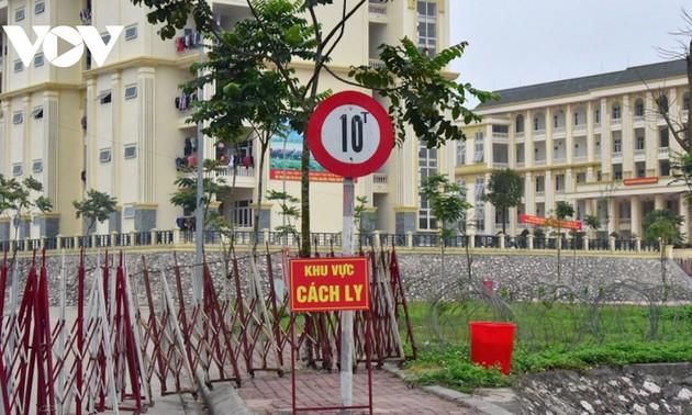 Hanoi: mise en quarantaine concentrée des personnes en provenance des zones épidémiques