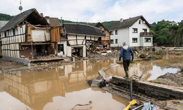 Alerte sévère aux inondations en Europe