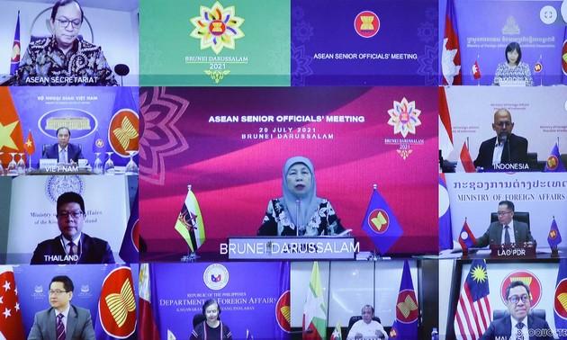 En amont de la 54e Conférence des ministres des Affaires étrangères de l'ASEAN