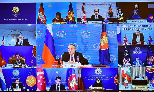 ASEAN-Russie: priorité à la coopération dans la lutte anti-Covid et à une reprise intégrale