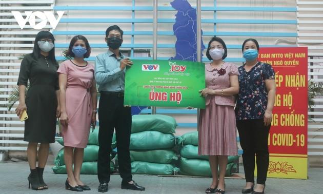 Humanitaire: VOV parraine le programme «L'amour partagé» en pleine pandémie