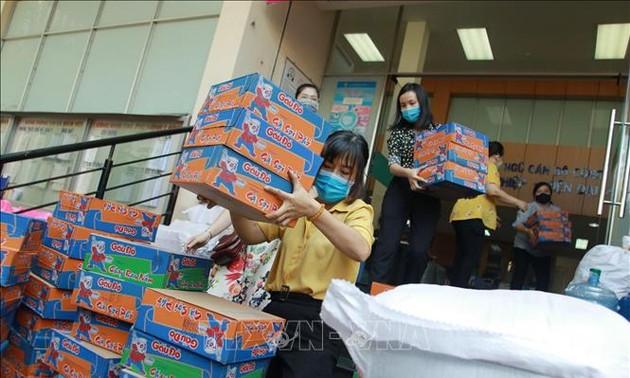 Hô Chi Minh-ville demande une aide de 28.000 milliards de dongs et 142.000 tonnes de riz