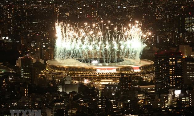 Inauguration officielle des Jeux paralympiques de Tokyo 2020