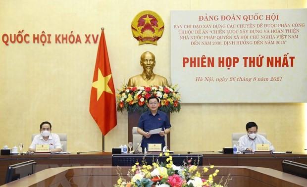État de droit socialiste: réunion à l'Assemblée