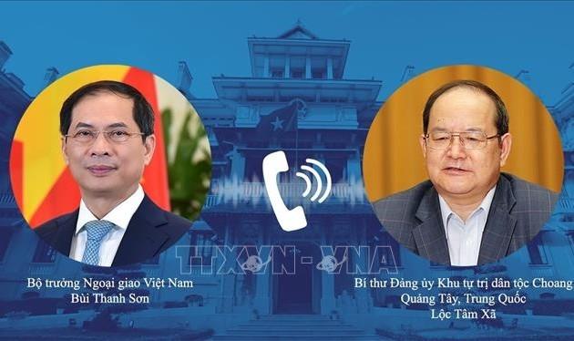 Renforcer la coopération entre les localités vietnamiennes et la province chinoise de Guangxi