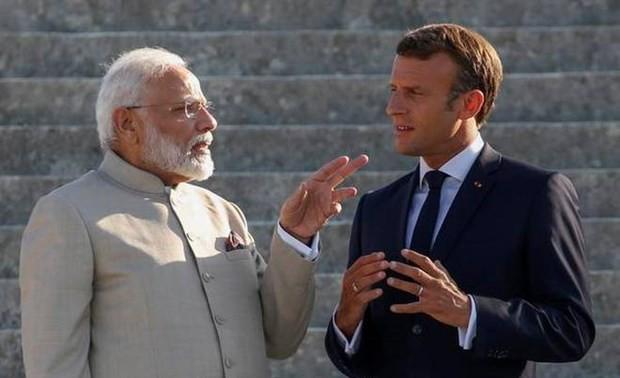 """La France et l'Inde veulent """"agir conjointement"""" en Indo-Pacifique"""
