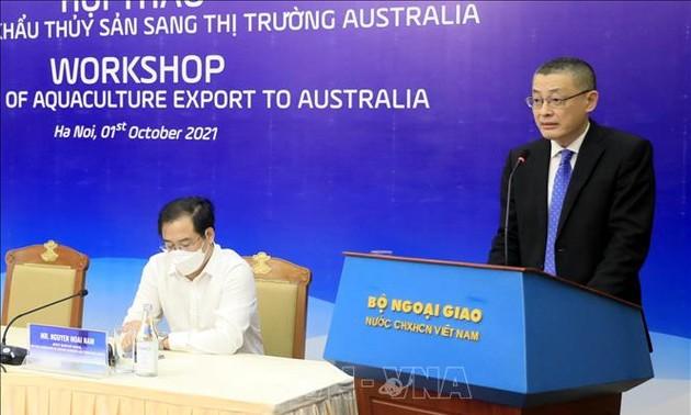 Les exportateurs de fruits de mer se tournent vers l'Australie