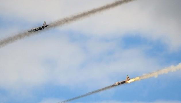Россия уничтожила позицию зенитной артиллерии ИГ в центральной части Сирии