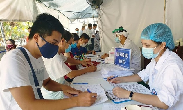 Все жители из всех районов страны при возвращении в Ханой, обязаны заполнить декларацию о состоянии здоровья