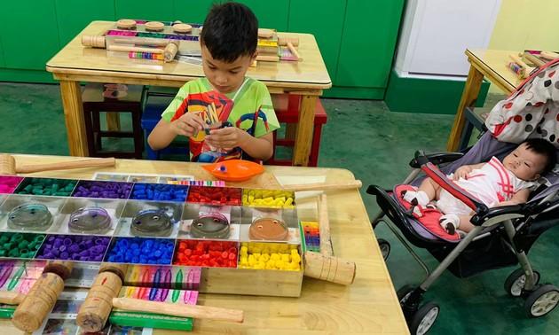 У детей в провинции Биньзыонг особенное лето