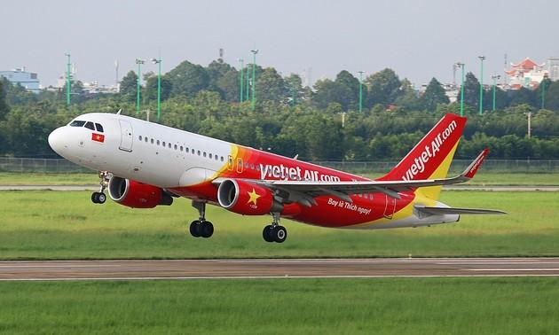 Vietjet mở các đường bay quốc tế
