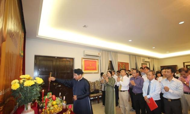 Long trọng lễ Giỗ tổ Hùng Vương tại Malaysia