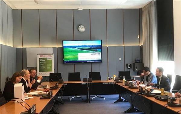 Đoàn Ủy ban Pháp luật Quốc hội thăm làm việc tại Hà Lan