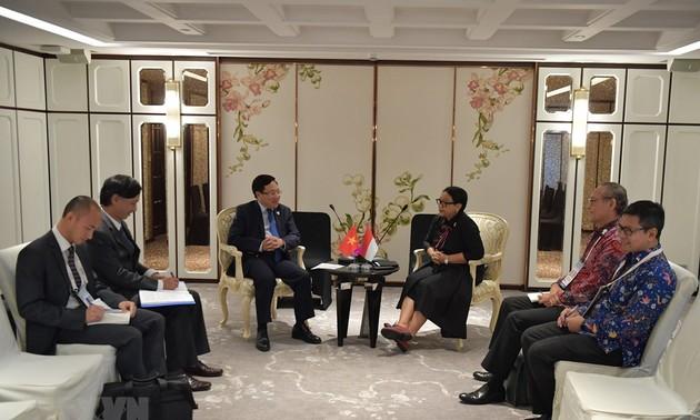 Việt Nam - Indonesia tiếp tục xúc tiến đàm phán phân định vùng đặc quyền kinh tế