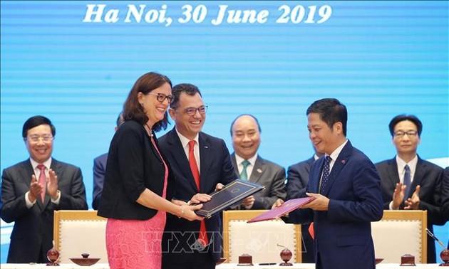 Hiệp định Thương mại tự do Việt Nam - EU: Thông điệp tích cực của châu Âu
